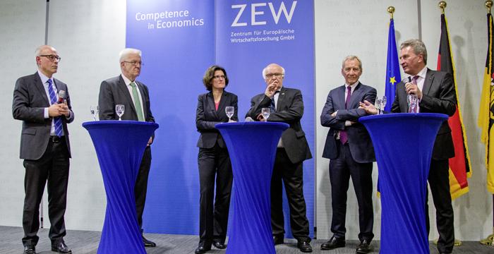 Landesregierung Und Zew Wurdigen Lothar Spath Staatsministerium Baden Wurttemberg